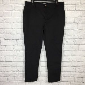 NWOT CALVIN KLEIN black skinny pants jegging 14